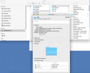 mac hosts dosyası yazma