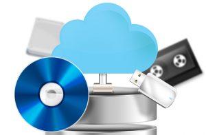 Cloud backup to nas