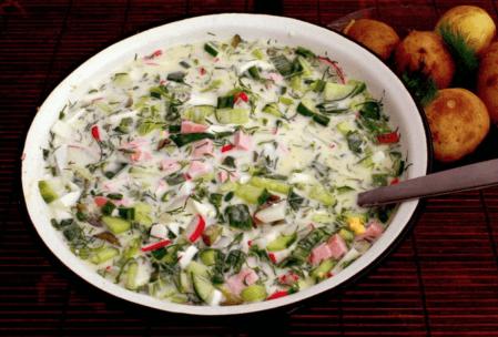 Okroshka çorbası