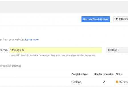 search console google gibi getir hatası çözümü