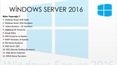 windows Server eğitimi