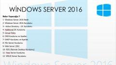 windows Server eğitimi