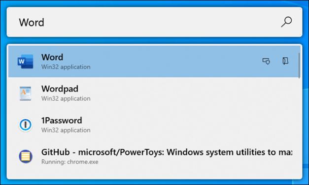 Windows 10 Powertoys run